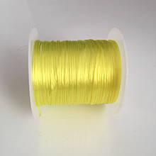 Силиконовая резинка. Желтый. Катушка 10 м. Цена за 1 катушку