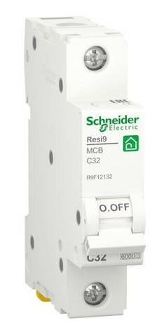 Автоматический выключатель RESI9 6kA 1P 32A C, фото 2