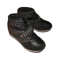 Демисезонные ботинки на танкетке Tom.m для девочки (р.31)