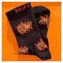 Шкарпетки Високі Жіночі City-A Driftwood POW Чорні 36-39