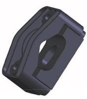 Кабельные зажимы для фиксации трех кабелей KO-3 (24-36) (крепление метизами к металлоконструкциям)