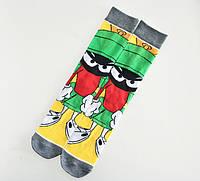 Шкарпетки Високі Жіночі Чоловічі City-A Space Jam Космічний Джем Марвін Марсіанин 37-43