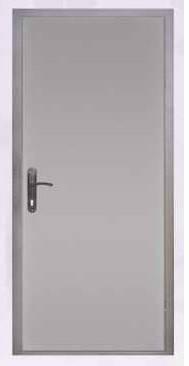 Металлическая техническая дверь в дом