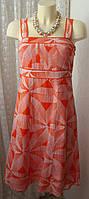 Платье женское сарафан лето жара хлопок шелк миди бренд Monsoon р.44 5122