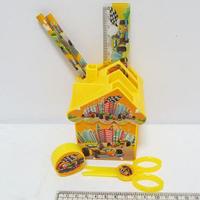 Детский настольный набор Машинки 6 предметов, JO 9159-1