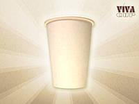 Стаканы белые бумажные для горячих/холодных напитков 200 мл