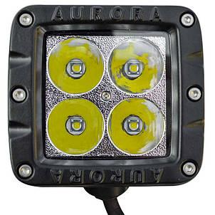 Дополнительная светодиодная фара ALO-2-P4T 40W Сree 9-36V  IP69  3200 Люмен, Дальний свет , фото 2