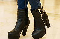 Женские  ботинки БОЛЬШИХ размеров от 34 по 43 ЖО 0451-И