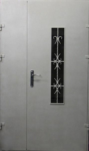 Двери технические металлические