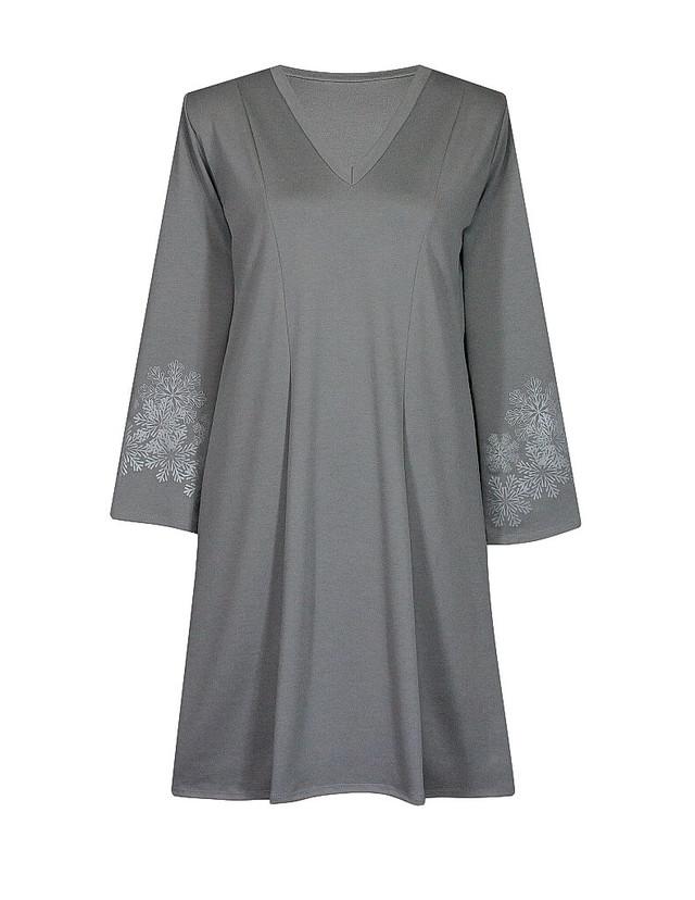 Клешенное женское платье МЕТЕЛИЦА