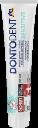 DONTODENT Sensitive - Зубная паста для чувствительных зубов 125мл. NaviStom