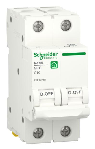 Автоматичний вимикач RESI9 6kA 2P 10A C