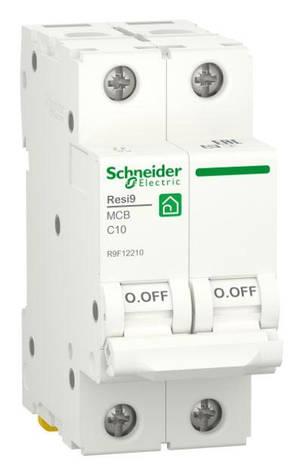 Автоматичний вимикач RESI9 6kA 2P 10A C, фото 2