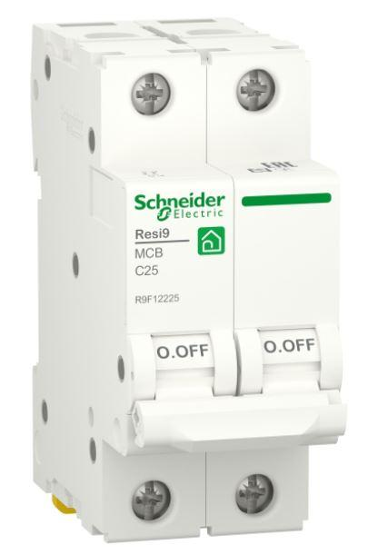 Автоматичний вимикач RESI9 6kA 2P 25A C