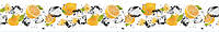 Стеклянный фартук для кухни - скинали Фрукты Лимон Вода