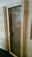 Двери для Бани и Сауны из липы, любые размеры под заказ, фото 1