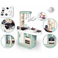 Дитяча інтерактивна кухня Smoby 310911 Cherry Electronic Kitchen для найменших. 25 аксесуарів, фото 1