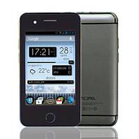 """Китайский айфон копия IPhone T6 (2sim), экран 3.5"""", WiFi, Android, чехол в подарок - бюджетный телефон дешево!"""