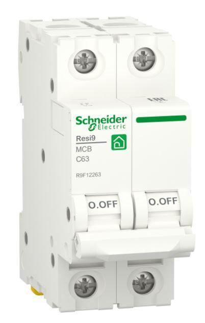 Автоматический выключатель RESI9 6kA 2P 63A C