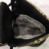 Чоловічі черевики зимові камуфляжні на хутрі берці (Кбл-416з-2), фото 8