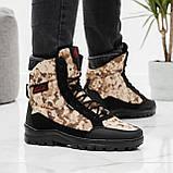 Чоловічі черевики зимові камуфляжні на хутрі берці (Кбл-416з-2), фото 2