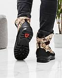 Чоловічі черевики зимові камуфляжні на хутрі берці (Кбл-416з-2), фото 4