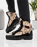 Чоловічі черевики зимові камуфляжні на хутрі берці (Кбл-416з-2), фото 6