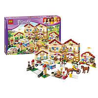 Конструктор Bela Школа верховой езды   10170 (аналог LEGO Friends 3185)