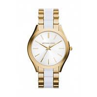 Часы Michael Kors Slim Runway Gold-Tone Acetate МК4295