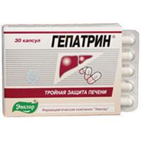 Гепатрин, капс. №60 по 0,33 г блістер