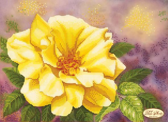 """Рисунок на ткани для вышивания бисером """"Золотые искры"""", фото 2"""