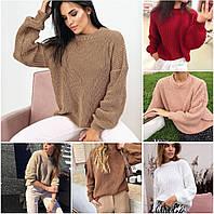 Жіночий теплий светр 42-46 розміру, фото 1