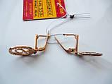 Золоті сережки підвіски з камінням 5.58 грама Золото 585 проби, фото 8