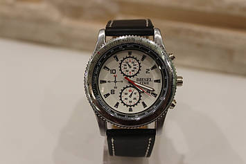 Чоловічий годинник з чорним ремінцем код 21