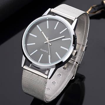 Жіночі годинники з срібним браслетом код 656