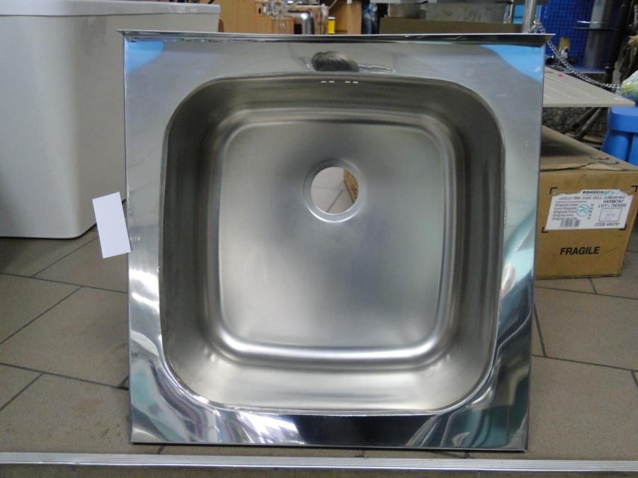 Мойка накладная кухонная 600 мм х 600 мм х 250 мм