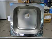 Мойка накладная кухонная 600 мм х 600 мм х 250 мм, фото 1