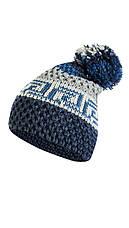 Красивая вязанная шапка с помпоном от Kamea - Frederica., фото 3