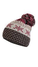 Красивая вязанная шапка с помпоном от Kamea - Frederica., фото 2