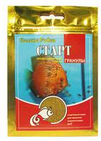 Корм Старт, стартовый корм для мальков икромечущих рыбок, 100 мл