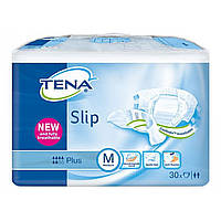 Подгузники для взрослых TENA Slip Plus Medium 30 шт. (дышащие)