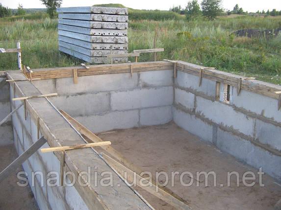 Фундамент из блоков, фото 2