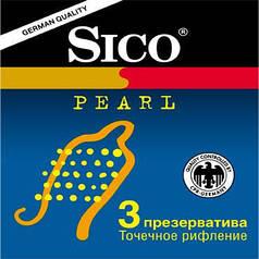 Презервативы латексные SICO Pearl точечные №3