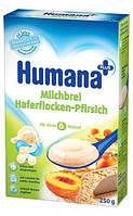 Каша HUMANA молочная овсяная с персиком сухая для детей от 6-ти месяцев 250 г