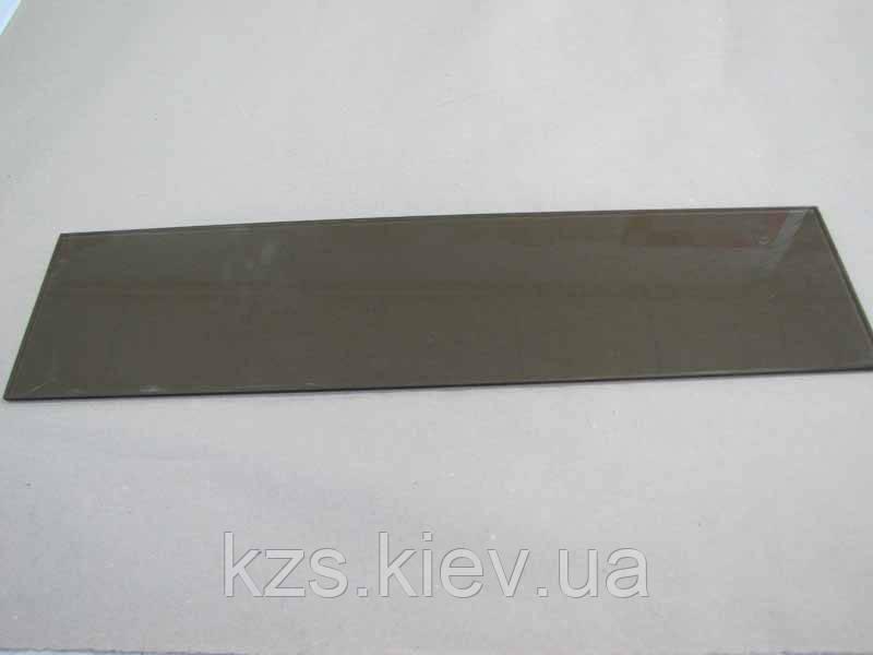 Полка прямоугольная из стекла бронза 5 мм. 550х140мм