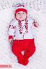 Человечек с шапочкой в украинском стиле