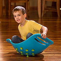 Качалка-балансир с присосками Fat Brain Toys Teeter Popper синий  (F0951ML), фото 1