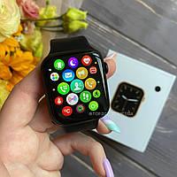 Смарт часы Smart Watch W26 (Термометр, пульс, тонометр, ЭКГ) Черные