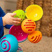 Іграшка-сортер сенсорна Сфери Омби Fat Brain Toys Oombee Ball (F230ML), фото 1