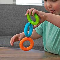Іграшка тактильна Магнітні кільця Fat Brain Toys SillyRings 3 шт. (F269ML), фото 1